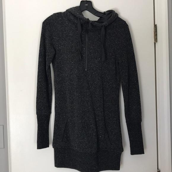 c0689506 Tunic length hoodie